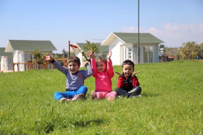 Mutlu Yaşam Köyü, misafirlerini kabul etmeye başladı