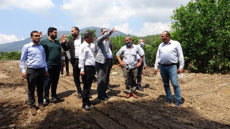 Meletme Göleti Sulama Projesi, 9 bin dönüm araziyi suyla buluşturuyor