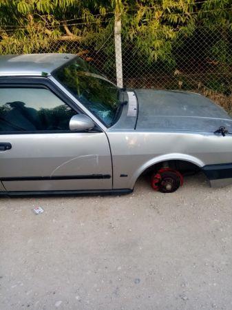Tarsus'ta çalınan araba parçalanmış halde bulundu