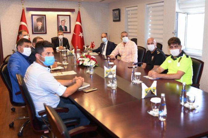 Yeni Adana Stadı güvenlik toplantısı