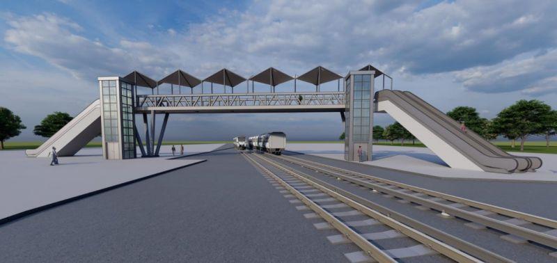 Büyükşehir Belediyesi, Tarsus'a modern bir üstgeçit kazandırıyor
