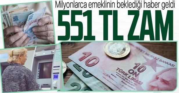 Emekliler için Temmuz hem zam hem ikramiye ayı olacak: Emekliye 551 TL zam