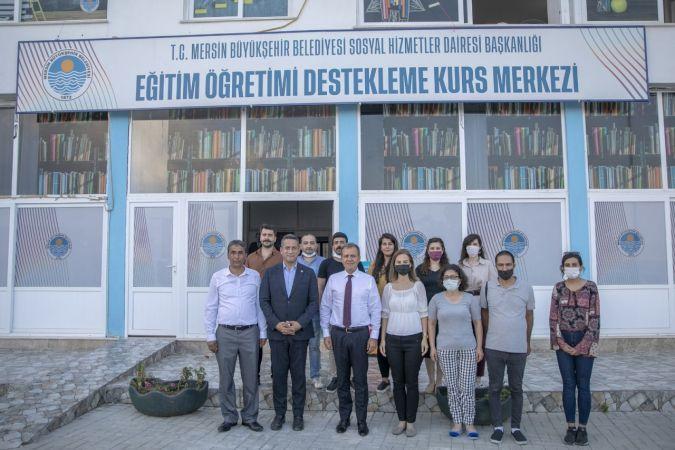 Mersin Büyükşehir Belediyesi'nin LGS hazırlık kurslarına ön kayıtlar başladı