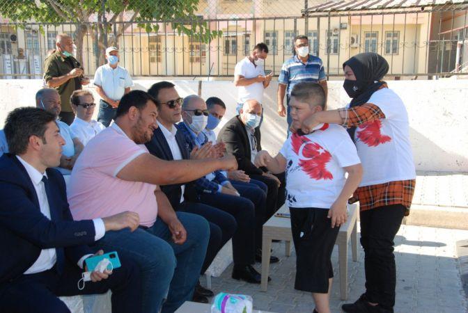 Silifke'de otizmli çocuklar Yaz Şenliğinde eğlendi