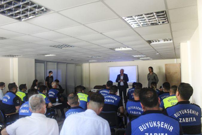 Eğitim alan Büyükşehir Zabıtası uyuşturucuyla mücadeleye destek verecek...