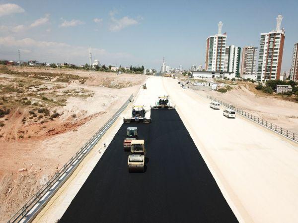 Mersin'de 4. çevre Yolu çalışmaları sürüyor