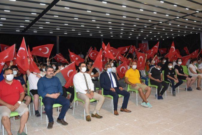 Mavi Deniz Gençlik Kampları Mersin'de başladı