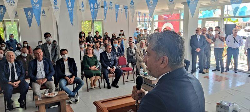 DEVA Partisi Tufanbeyli İlçe Kongresi Gerçekleştirildi
