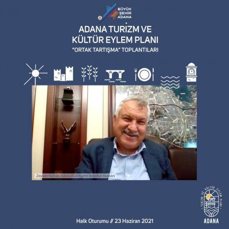 Adana Turizm ve Kültür Eylem Planı çalışmaları