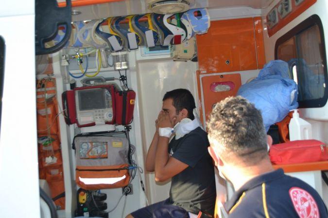 Bozyazı'da trafik kazası: 2 yaralı