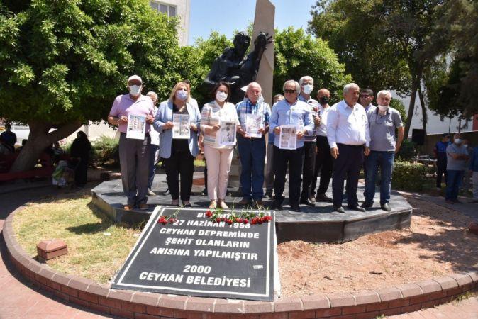 Adana-Ceyhan depreminin 23. yıl dönümü