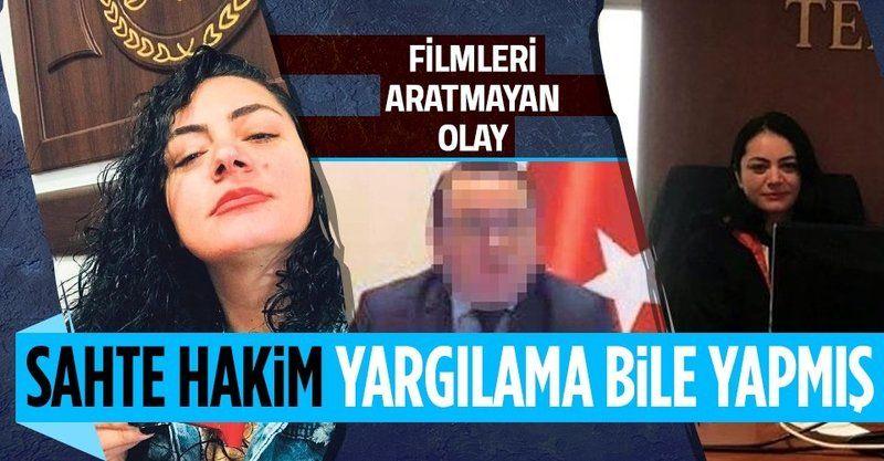 Sahte kadın hâkim Zeliha Özdemir SEGBİS'le duruşma bile yapmış