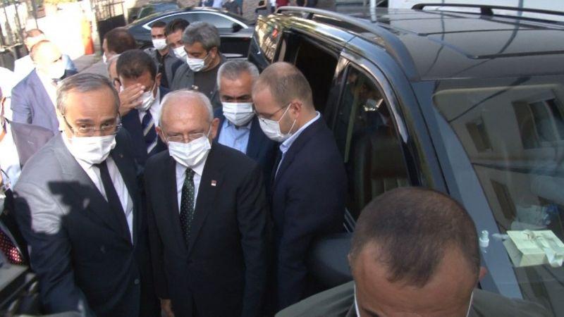 CHP Genel Başkanı Kılıçdaroğlu Türk Hava Kurumu'nu ziyaret etti