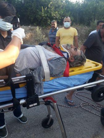 Şarampole otomobil devrildi: 3 yaralı
