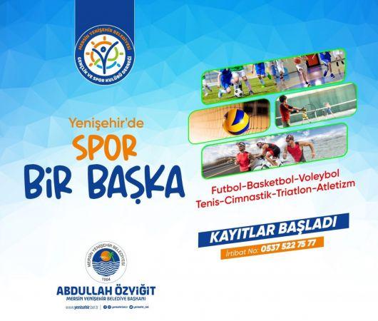 Yenişehir Belediyesi'nin spor kurslarına kayıtlar devam ediyor