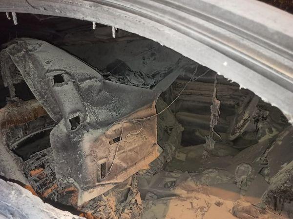 MHP İlçe Başkanı Çetin'in arabası yakıldı