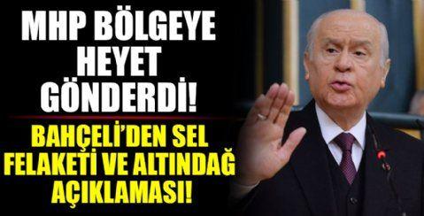 """MHP lideri Bahçeli: """"Altındağ'da bıçaklanarak katledilen evladımızın katillerinin en ağır şekilde cezalandırılmasını diliyorum"""""""