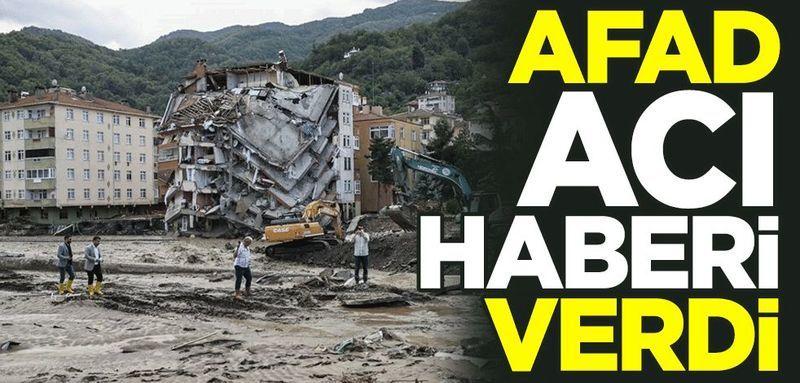 AFAD acı haberi duyurdu: Sel felaketinde can kaybı 44'a yükseldi