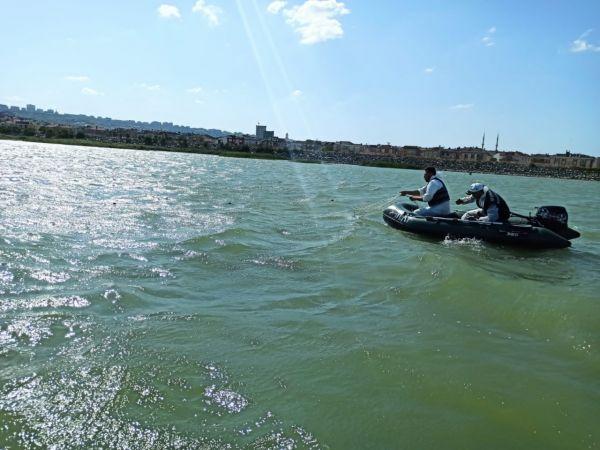 Büyükçekmece Gölü'nde yasadışı avcılık yapan 15 kişiye idari para cezası uygulandı