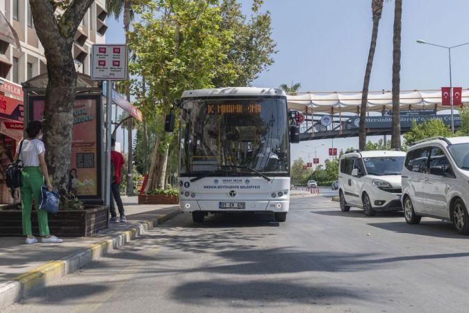 Mersin'de elektrikli otobüsler test ediliyor
