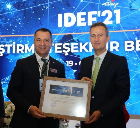 Miilux OY'a yerli üretim ödülü