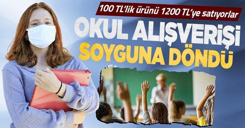 Markette 100 TL, özel okulda 1200... Okul alışverişi bu sene zamlı olacak