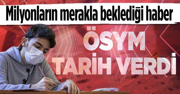 ÖSYM Başkanı Halis Aygün'den YKS tercih sonuçları açıklaması