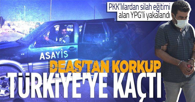 Suriye'de PKK'lılardan silah eğitimi alan YPG'li Adana'da yakalandı
