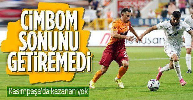 Galatasaray sonunu getiremedi! Kasımpaşa 2 - 2 Galatasaray maç sonucu