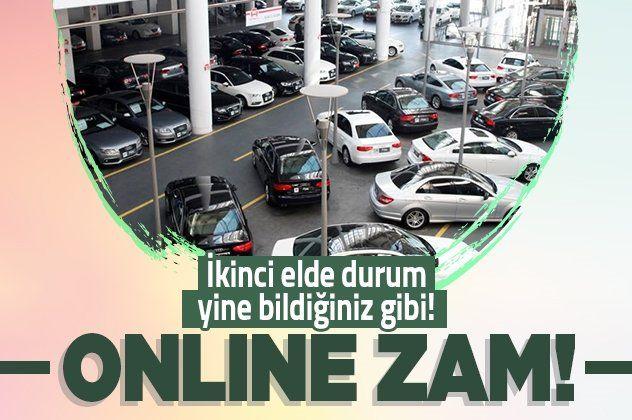 Sahibinden ikinci el online arabada fiyatlar yükseldi satışlar azaldı
