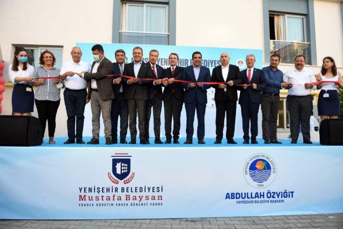 Yenişehir Belediyesi, erkek öğrenci yurdunu hizmete açtı