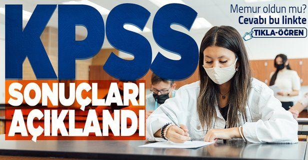 KPSS sonuçları sorgulama ekranı! 2021 KPSS lisans sınav sonuçları nereden, nasıl öğrenilir?