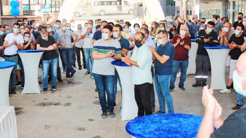 Toksan, GPTW'den alınan ödülü çalışanlarıyla kutladı