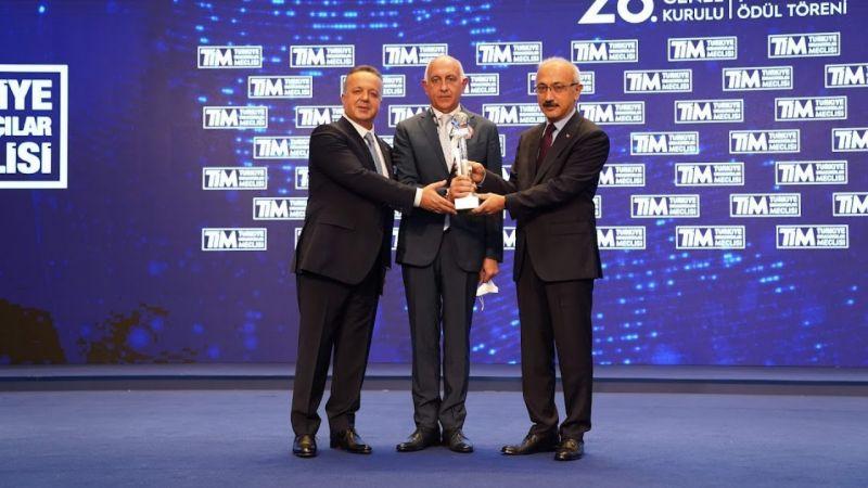 TİM'den Kibar Holding'e ihracat ödülü