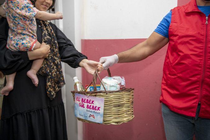 El Bebek Gül Bebek projesinde dağıtılan paket sayısı 18 bini aştı