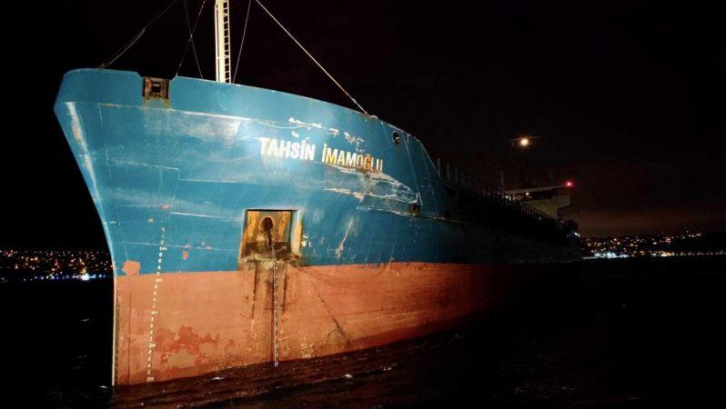 İstanbul Boğazı'nda korkutan 2 kaza
