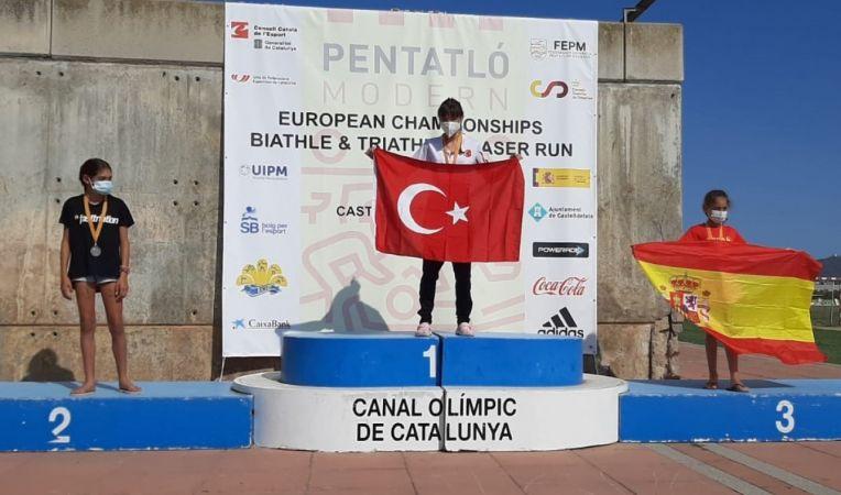 Milli pentatloncular, Biathle Triathle Avrupa Şampiyonası'na damga vurdu