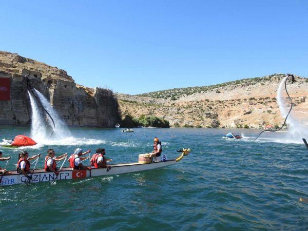 4'üncü uluslararası Rumkale Su Sporları Festivali başladı