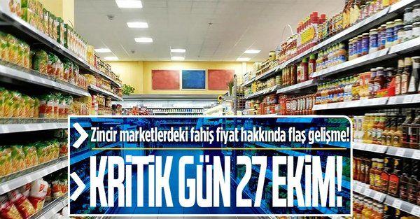 Zincir marketler hakkında yürütülen soruşturmanın sözlü savunma toplantısı 27 Ekim'de yapılacak