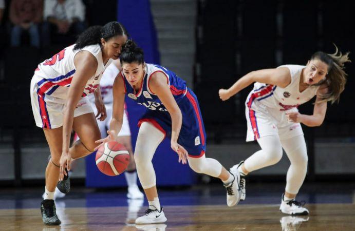 Mersin Büyükşehir Belediyesi Kadın Basketbol Takımı çeyrek finalde