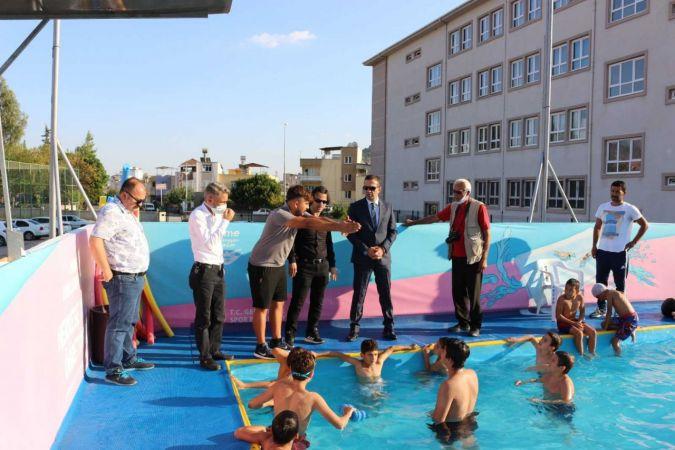 Kozan'da yaz spor kurslarına yoğun ilgi