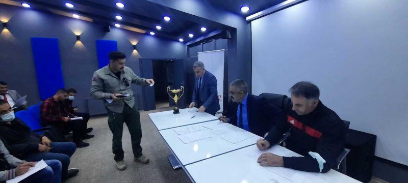 Eleşkirt'te Kurumlar Arası Voleybol Turnuvası Kura Çekimi Yapıldı