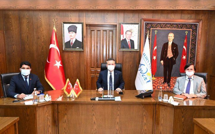 Rektör Aldemir, Üniversite Güvenlik ve Barınma Sorunları toplantısına katıldı