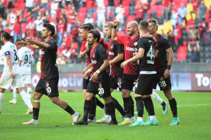 Süper Lig: Gaziantep FK: 4 - Altay: 1 (Maç sonucu)