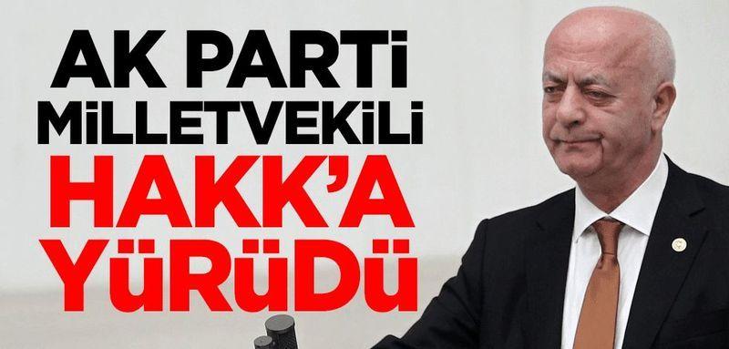 AK Parti İstanbul milletvekili İsmet Uçma Hakk'a yürüdü