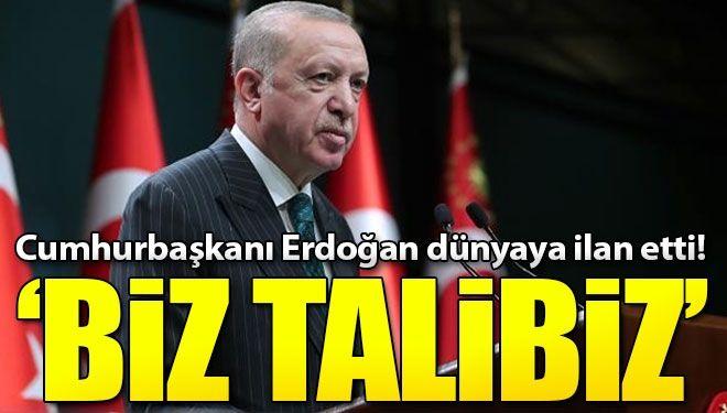 Cumhurbaşkanı Erdoğan'dan flaş G20 açıklaması