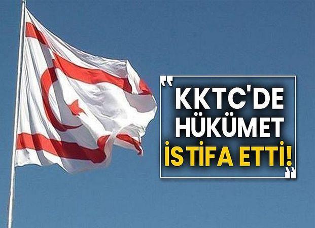 KKTC Başbakanı Ersan Saner Hükümeti, İstifa Etti!