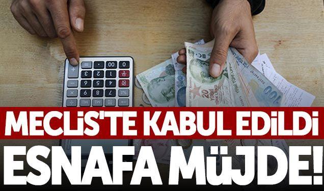 Vergi Usul Kanunu, Meclis'te kabul edildi