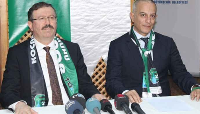 Büyükşehir, Kocaelispor'un borçlarını sıfırladı