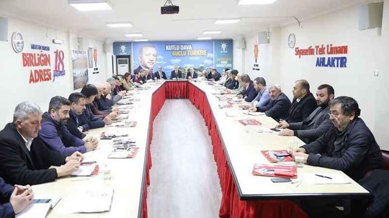 AK Parti teşkilatlarında manevi sohbet dönemi!